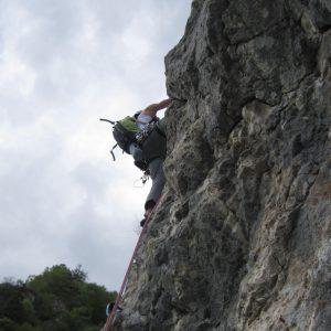 Muchia Caprioarei, Croco performand pe lungimea 5