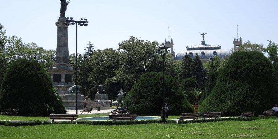 Plimbare Ruse, parculetul din zona centrala