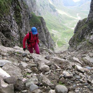 Plimbare – alergare in Bucegi, pe hornul mare
