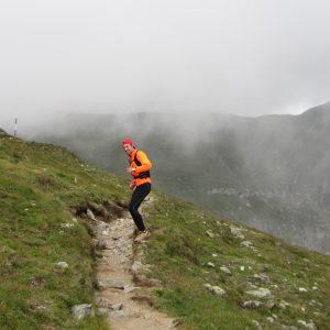 Plimbare – alergare in Bucegi, spre Vf. Omu