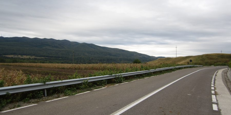 Cursierind pe drumul vinului, spre Vidra