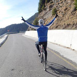 Cursiereala prin Sinaia, Vali sfidand bicicleta si asfaltul