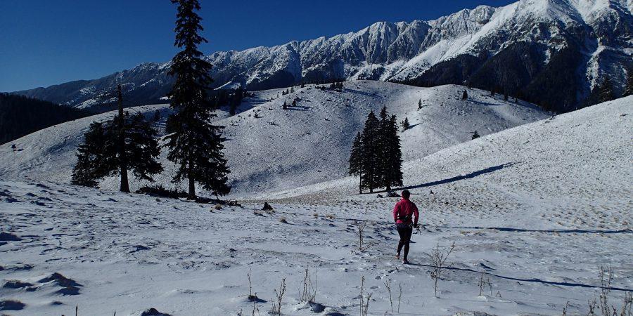 Alergare de iarna in Crai, spre La Table