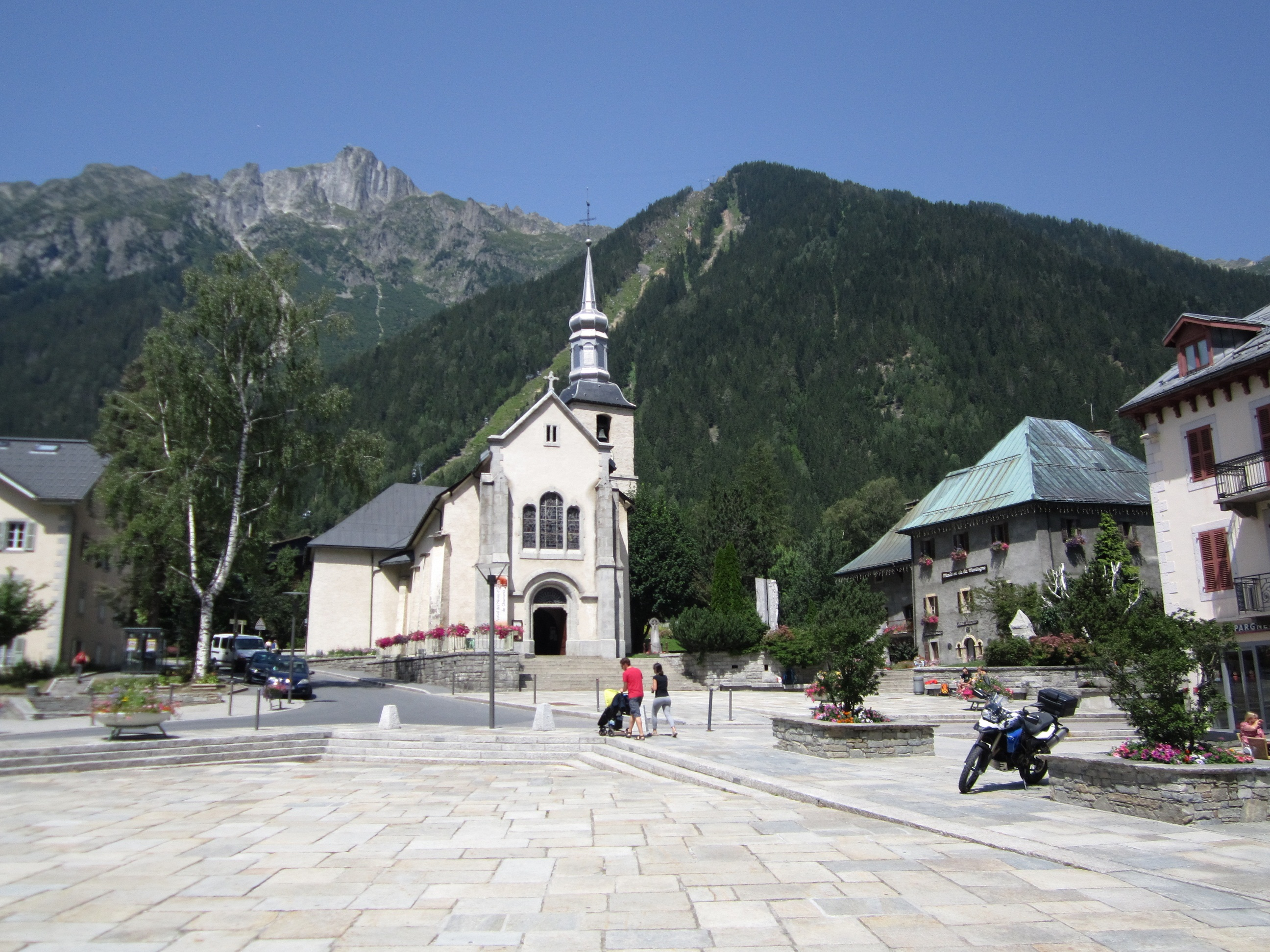 Chamonix, biserica de recorduri (2012)