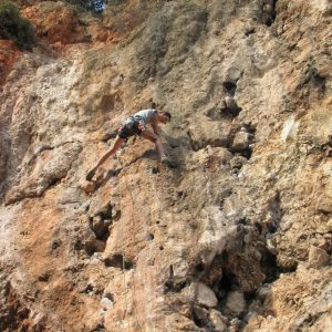Escalada in Antalya, Croco in sectorul Posedion