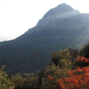 Escalada in Antalya, un alt munte spre N