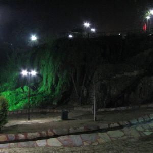Antalya, micro cascade amenajate in parcul Duden