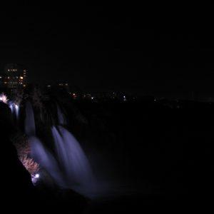 Antalya, cascada Duden (30-40m) care se varsa in mare
