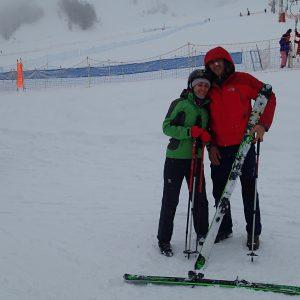 Ski in Chamonix, Eliza si Nelutzu