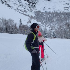 Ski in Chamonix, pe partie in Le Tour