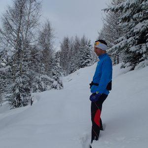 Alergare prin Chamonix, punctul pana unde am mers
