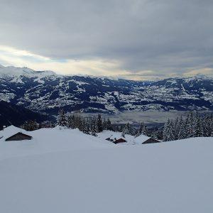 Ski in Chamonix, vedere de partia din Passy
