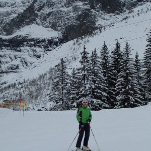 Ski in Chamonix, pe partia Passy