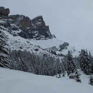 Ski in Chamonix, niste pereti vazuti de partie