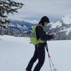 Ski in Chamonix, consultul hartii