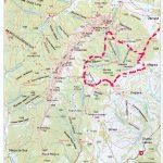 harta piatra craiului traseu 5