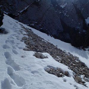 MPC de iarna in regie proprie, pe grohotis
