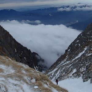 Valea Alba si Valea Cerbului, la iesire spre platou