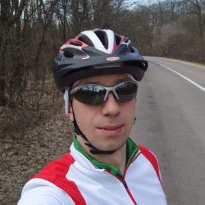 Pe la sud de Bucuresti cu cursiera, prim plan