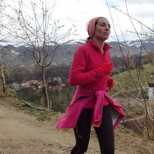 Zarnesti - Moeciu in alergare, urcarea din Moeciu spre Magura