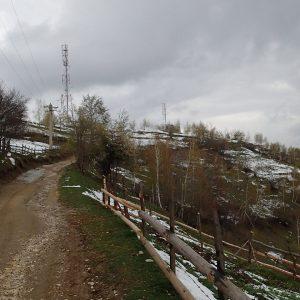 Zarnesti - Moeciu in alergare, spre Magura