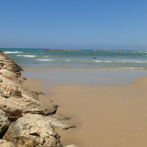 Alergare pe nisip, marea albastra :)