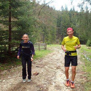 Weekend prin Zarnesti, Magura si Pestera - alergare statica, de poza