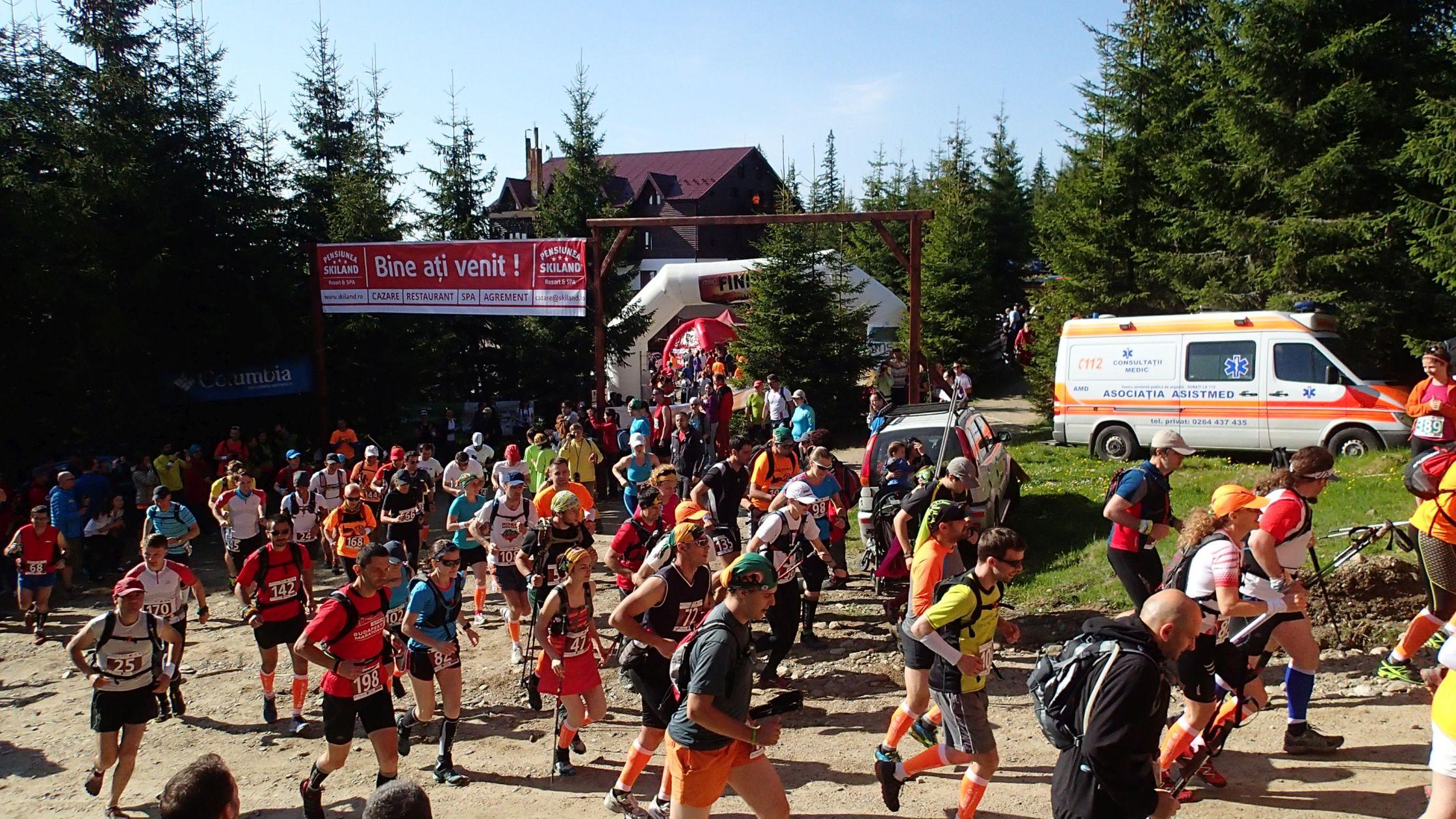 Maraton Apuseni 2014, la start