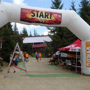 Maraton Apuseni 2014, la finish