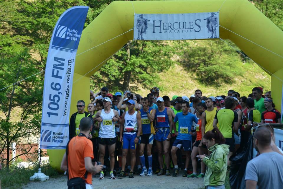Hercules Maraton 2014 - la start
