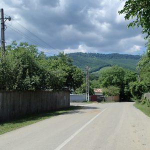 Panciu - Focsani - Vidra pe cursiera, prin satul Vizantea