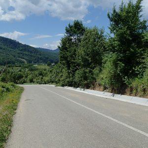 Panciu - Focsani - Vidra pe cursiera, urcarea spre satul Campuri