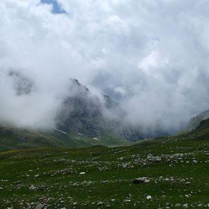 Ture de alergare prin Bucegiul vestic, pe Valea Gaura