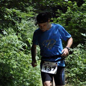 Cozia Mountain Run 2014 - undeva prin padure