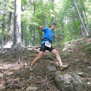 Cozia Mountain Run 2014 - coborarea, pe langa Izvor 2