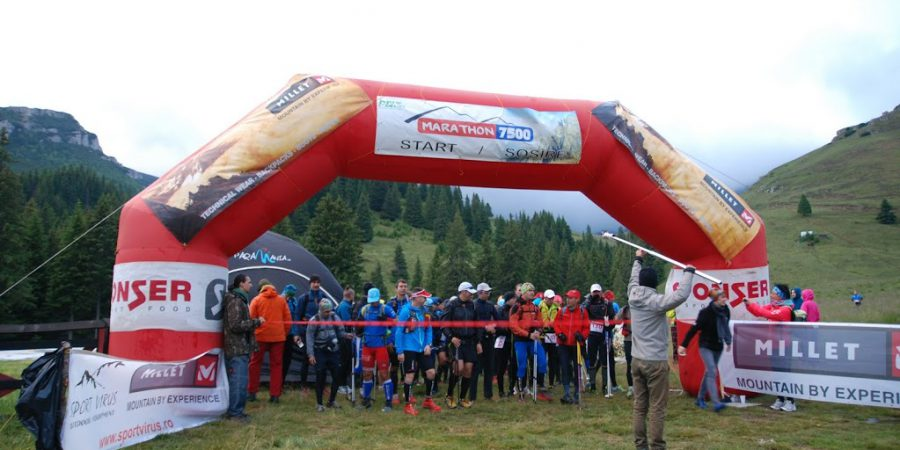 Marathon 7500, editia 2014 - cateva secunde pana la start