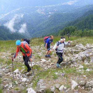 Marathon 7500, editia 2014 - urcarea pe piciorul Pietrei Arse