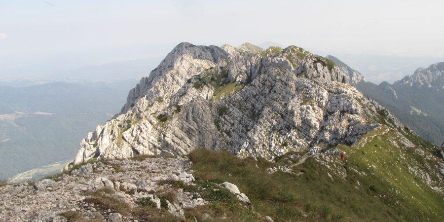 Piatra Mica si creasta Pietrei Craiului in alergare