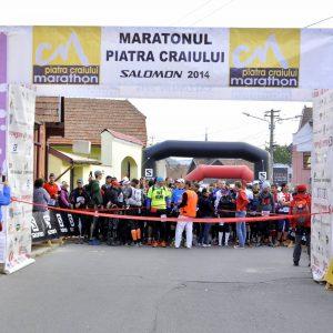 Maraton Piatra Craiului 2014, la start