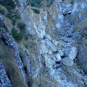 Valea Coltilor, coborarea in Valea Malinului