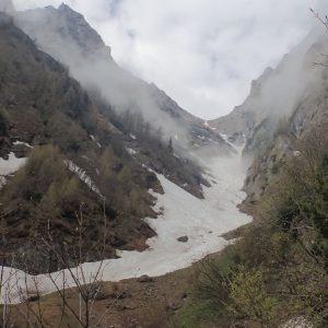 Alergare pe Vale Alba si Jepii Mari, Valea Alba de La Verdeata