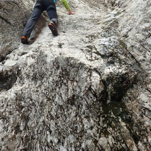 Canionul Cioranga, saritoarea care m-a blocat si locul unde m-am blocat