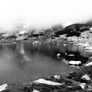 Alergare pe Musala, lacul de langa cabana Musala