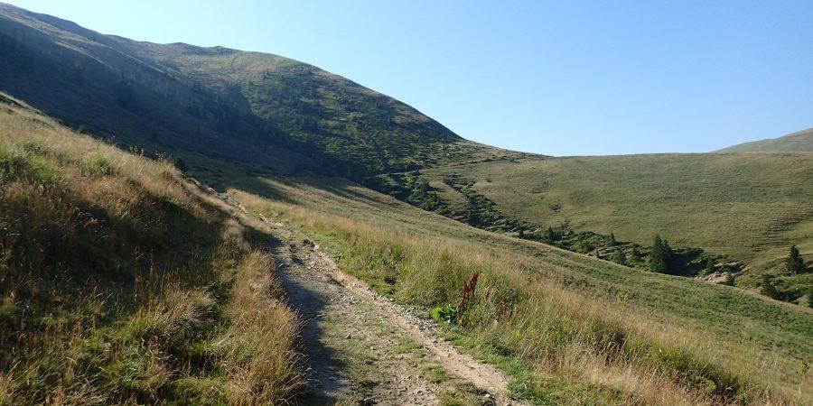 Cu MTB-ul pe traseul de ultramaraton Ciucas, pe langa Muntele Cailor