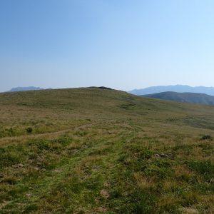 Cu MTB-ul pe traseul de ultramaraton Ciucas, undeva pe traseu