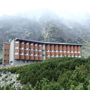 Alergare prin muntii Tatra, hotelul Sliezsky Dom