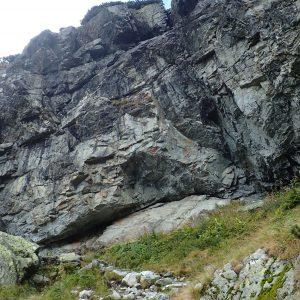 Alergare prin muntii Tatra, faleza de escalada