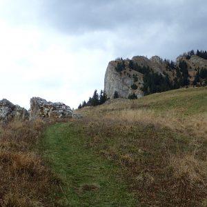 Alergare de toamnă prin Ciucaș, spre stana din Zaganu