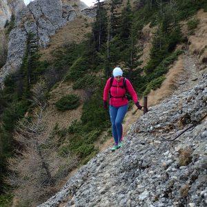Alergare de toamnă prin Ciucaș, zona de lanturi spre vf. Gropsoarele