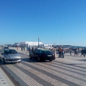 Alergare prin Lisabona, spre faleza